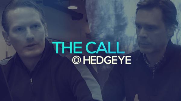 A Sneak Peek → The Call @ Hedgeye (12/12/19) - thecall13