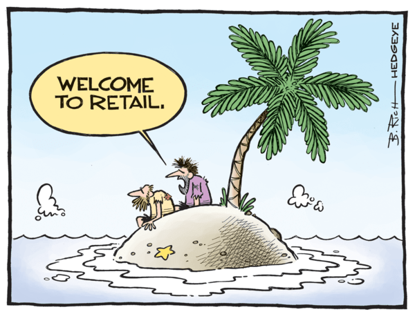 CHART OF THE DAY: Retail Sales → Higher, Further, Faster? - retail cartoon 01.14.2014  1