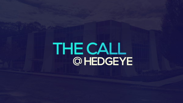A Sneak Peek → The Call @ Hedgeye (12/13/19) - thecall14