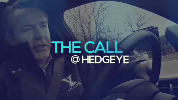 A Sneak Peek → The Call @ Hedgeye (12/16/19) - thecall15