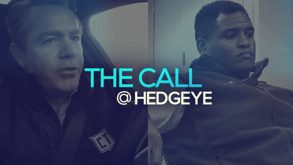 A Sneak Peek → The Call @ Hedgeye (12/18/19) - thecall17