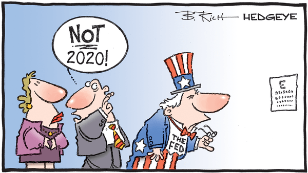Cartoon of the Day: Eye Exam - 01.02.2020 Fed 2020 cartoon