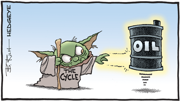 Cartoon of the Day: The Force - 01.06.2020 cycle Yoda and oil cartoon