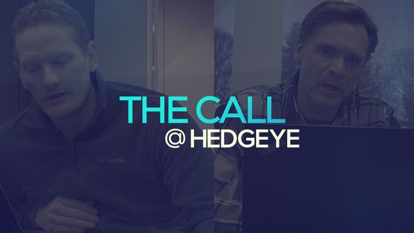 A Sneak Peek → The Call @ Hedgeye (1/9/20) - thecall25