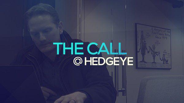 A Sneak Peek → The Call @ Hedgeye (1/10/20) - thecall26