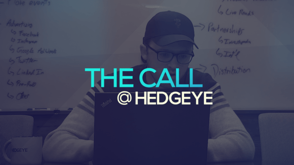 A Sneak Peek → The Call @ Hedgeye (1/13/20) - thecall27