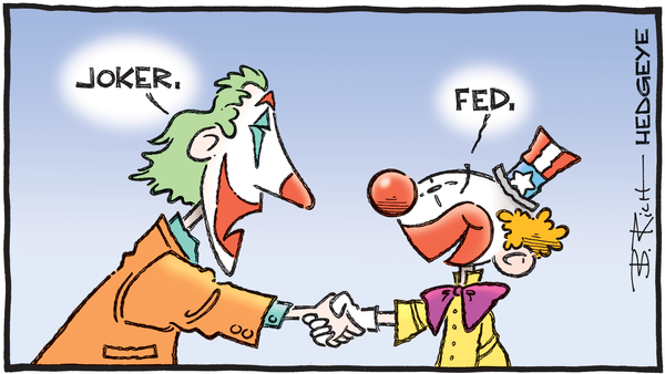 Cartoon of the Day: Nice To Meet You - 01.14.2020 Fed clown and joker cartoon