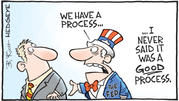 Fed → Mandate Mischief - 01.12.2018 FED process cartoon