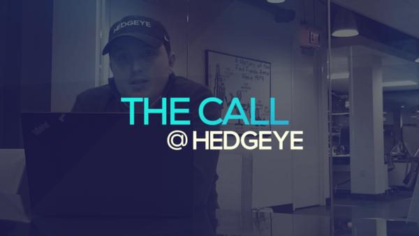 A Sneak Peek → The Call @ Hedgeye (1/15/20) - thecall29