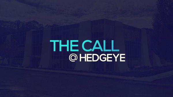 A Sneak Peek → The Call @ Hedgeye (1/16/20) - thecall30
