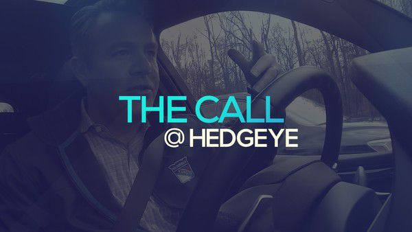 A Sneak Peek → The Call @ Hedgeye (1/17/20) - thecall31
