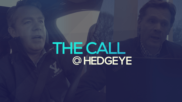 A Sneak Peek → The Call @ Hedgeye (1/21/20) - thecall32