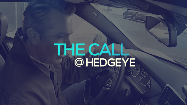 A Sneak Peek → The Call @ Hedgeye (1/23/20) - thecall34