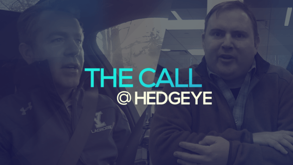 A Sneak Peek → The Call @ Hedgeye (1/24/20) - thecall35