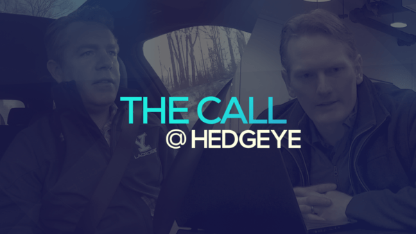 A Sneak Peek → The Call @ Hedgeye (1/28/20) - thecall37