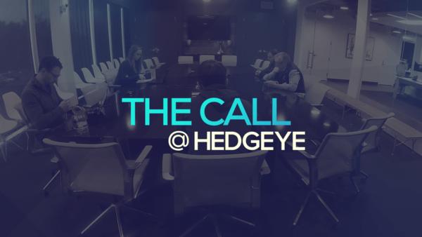 A Sneak Peek → The Call @ Hedgeye (1/29/20) - thecall38
