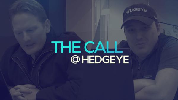A Sneak Peek → The Call @ Hedgeye (1/31/20) - thecall40