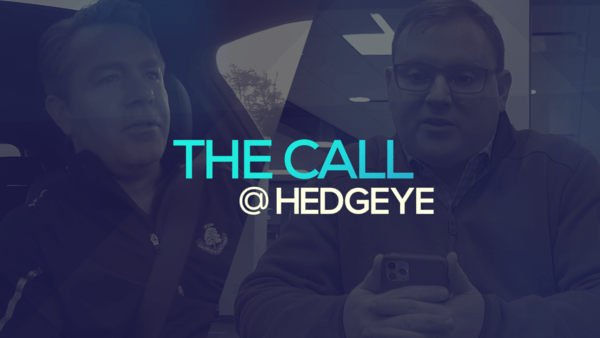 A Sneak Peek → The Call @ Hedgeye (2/3/20) - thecall41