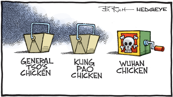 Cartoon of the Day: Take-out Tonight? - 02.04.2020 China virus takeout cartoon