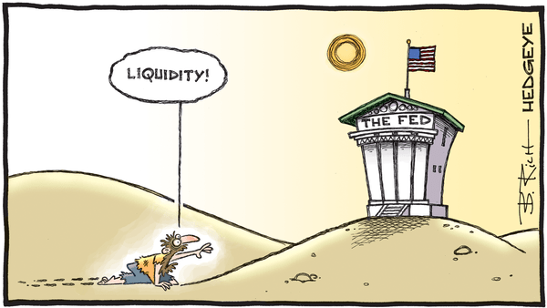 Cartoon of the Day: Thirsty - 02.11.2020 Liquidity cartoon