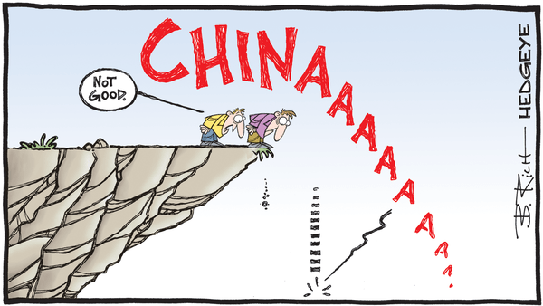 Cartoon of the Day: Off A Cliff - 02.13.2020 ChinAAAAA cartoon