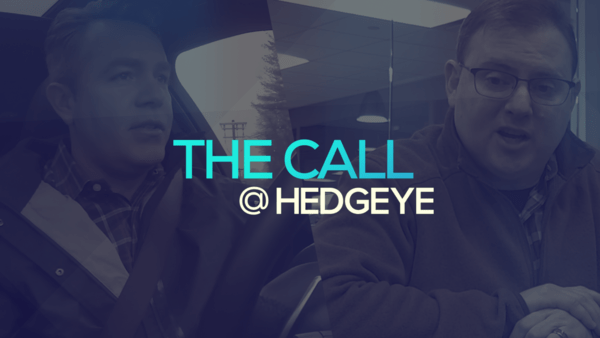 A Sneak Peek → The Call @ Hedgeye (2/14/20) - thecall50