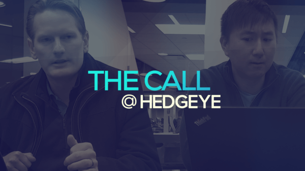 A Sneak Peek → The Call @ Hedgeye (2/18/20) - thecall51
