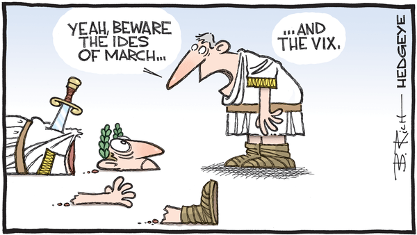 Cartoon of the Day: Beware - 03.13.2020 Ides of March cartoon