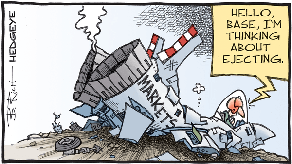 Despite Massive QE And Congress Bill, The US Dollar Shortage Intensifies - 03.02.2020 eject wrecked market cartoon