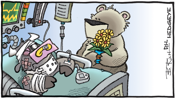 Cartoon of the Day: Emergency Room - 04.01.2020 bull hospital bed cartoon