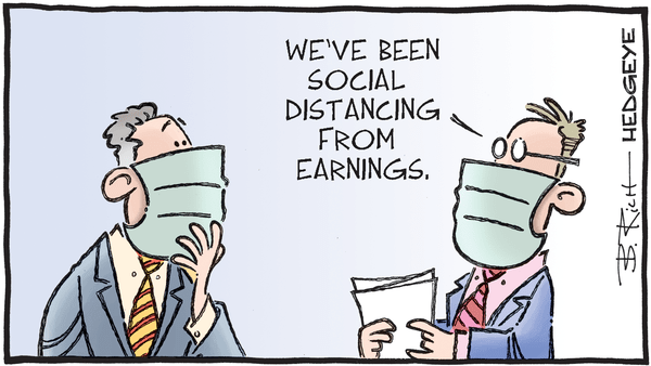 Cartoon of the Day: Social Distancing  - 04.13.2020 earnings distancing cartoon