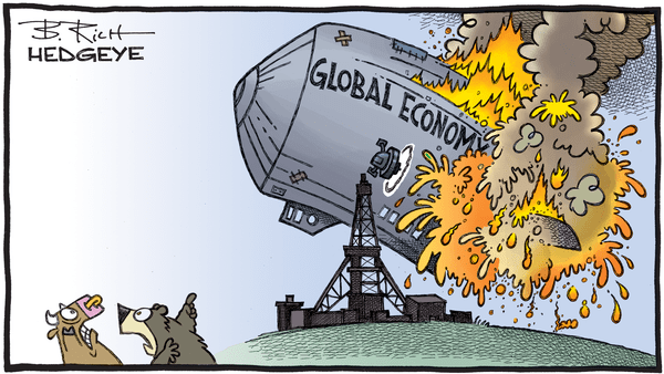 Cartoon of the Day: Global Catastrophe - 04.21.2020 global Hindenburg