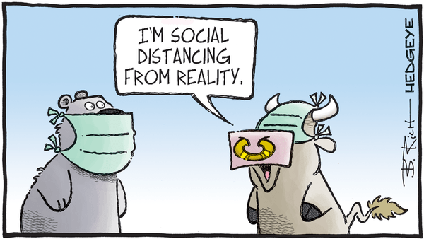 Cartoon of the Day: Social Distancing  - 04.27.2020 social distancing cartoon
