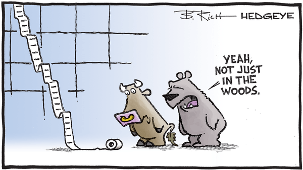 Cartoon of the Day: Not A Square To Spare  - 05.01.2020 not just in the woods cartoon