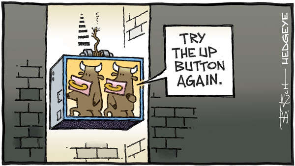 Cartoon of the Day: Free Fall - 05.04.2020 runaway elevator cartoon