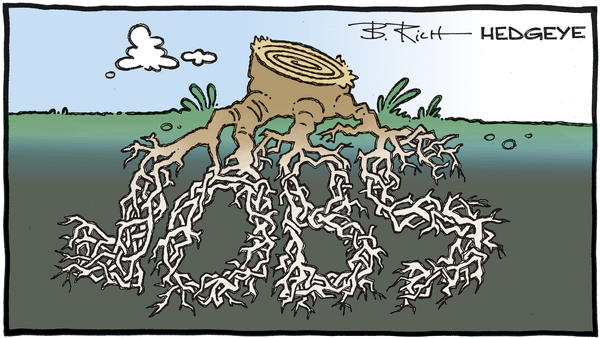 Cartoon of the Day: Dead Roots  - 05.08.2020 jobs tree stump cartoon