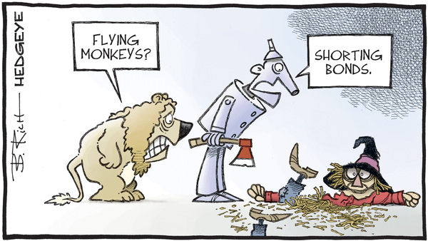 Cartoon of the Day: Shredded  - 05.11.2020 shorting bonds cartoon