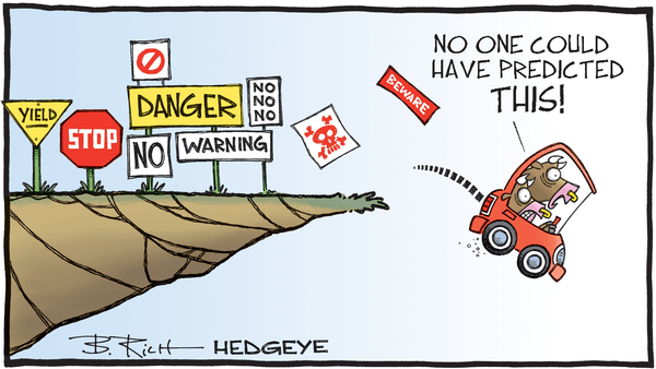 The ECB Cannot Disguise Risk Much Longer - 03.10.2020 no one could predict cartoon