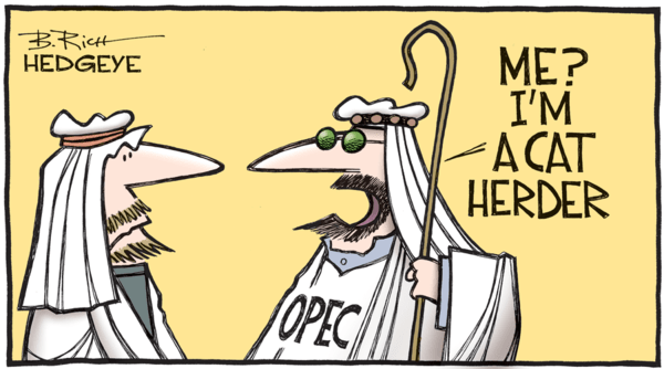 OPEC Set to Extend Deepest Cuts at June Meeting - OPEC cartoon 11.18.2016  1