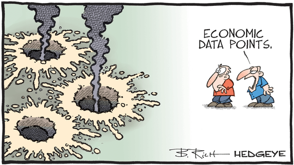 Cartoon of the Day: Craters  - 06.12.2020 economic data points cartoon