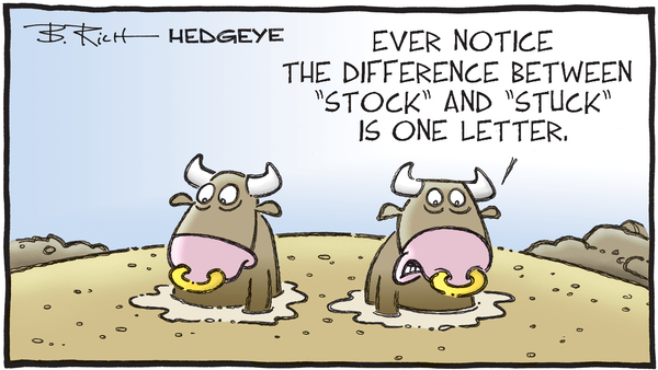 Cartoon of the Day: What's The Difference?  - 06.15.2020 stuck stocks cartoon