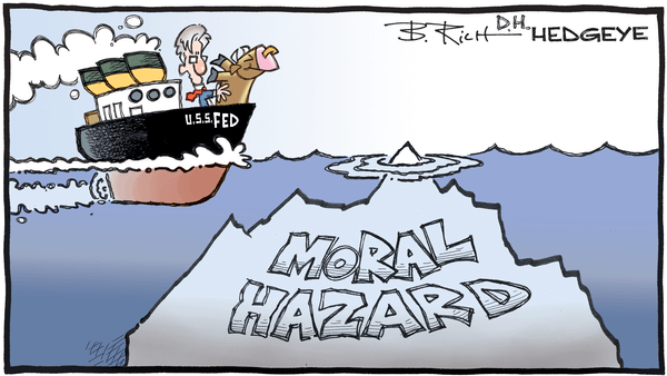 Cartoon of the Day: Iceberg! - 06.16.2020 moral hazard cartoon