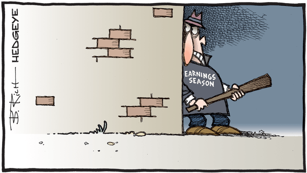 Cartoon of the Day: Around The Corner  - 07.07.2020 earnings season cartoon2