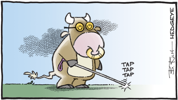 Cartoon of the Day: Blinded - 07.10.2020 blind bull cartoon