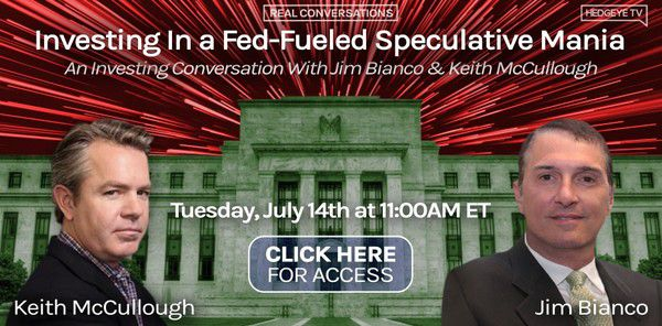 [WEBCAST] Bianco 1-on-1 with McCullough On 'Fed-Fueled Mania' (Today at 11am ET) - bianco date