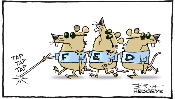 The Fed Will Not Criticize Congress Or The White House For Their Financial Idiocy  - 06.13.2018 FED mice cartoon  3