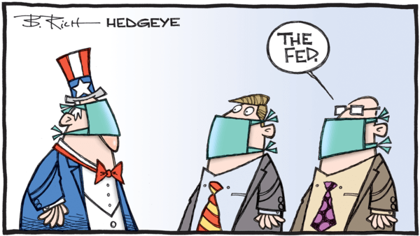 Financial Repression and Inflation Targets - 02.21.2020 Fed mask cartoon  2