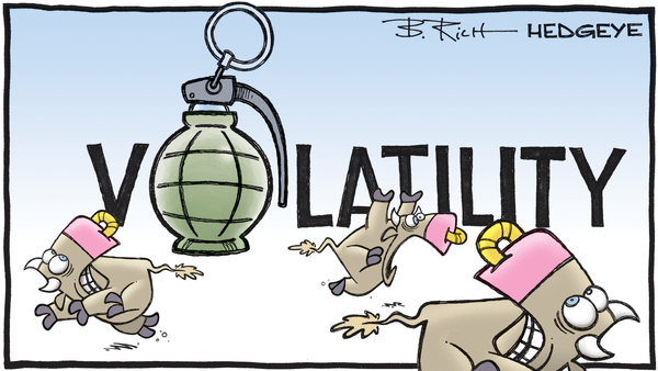 Cartoon of the Day: Careful!  - 09.15.2020 volatility grenade cartoon