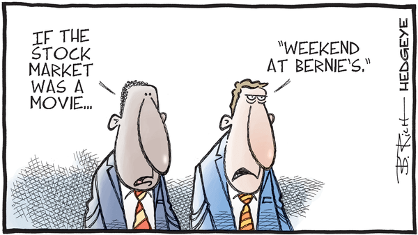 10 Tweets This Morning From Keith McCullough - 06.30.2020 weekend at Bernies cartoon