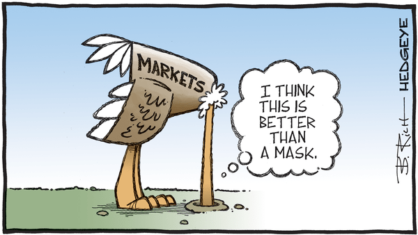 11 Tweets This Morning From Keith McCullough - 07.16.2020 better than a mask cartoon